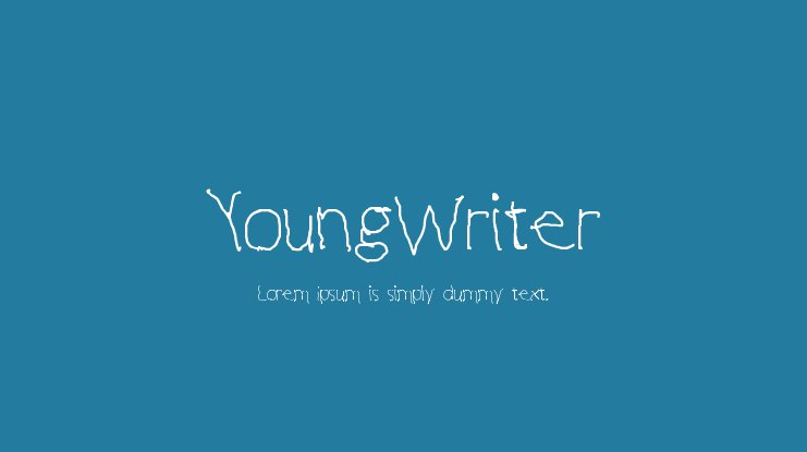YoungWriter Font