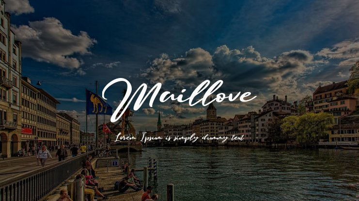 Maillove Font