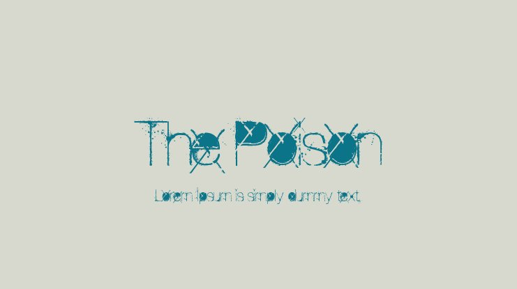 The Poison Font