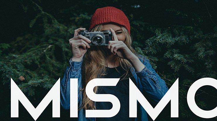 Mismo Font Family