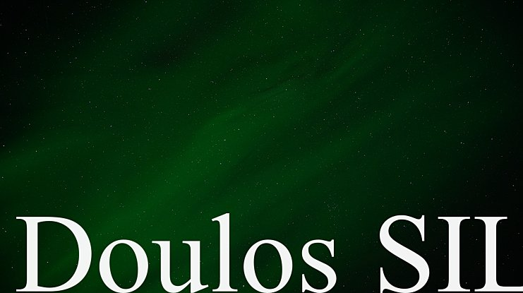 Doulos SIL Font