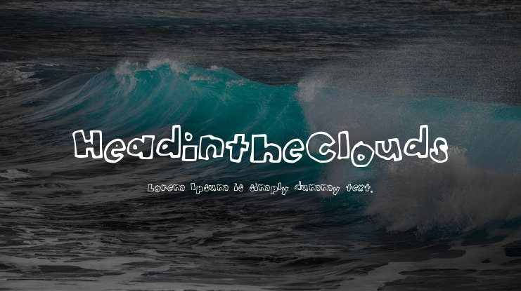HeadintheClouds Font Family