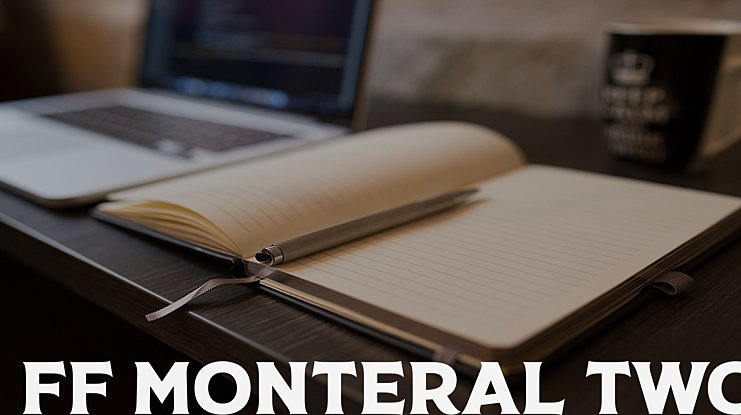 FF Monteral Two Font