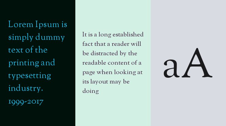OFL Sorts Mill Goudy Font Family