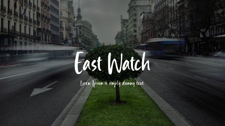 East Watch Font