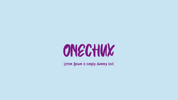 ONECHUX Font