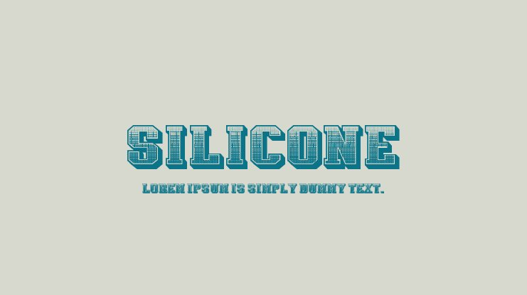 Silicone Font Family