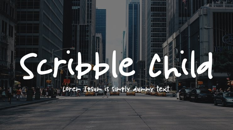 Scribble Child Font