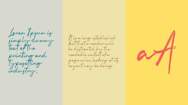 Indobrush Free Personal Use Font