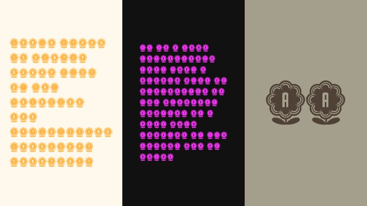 Flower Capitals 1 Font Family