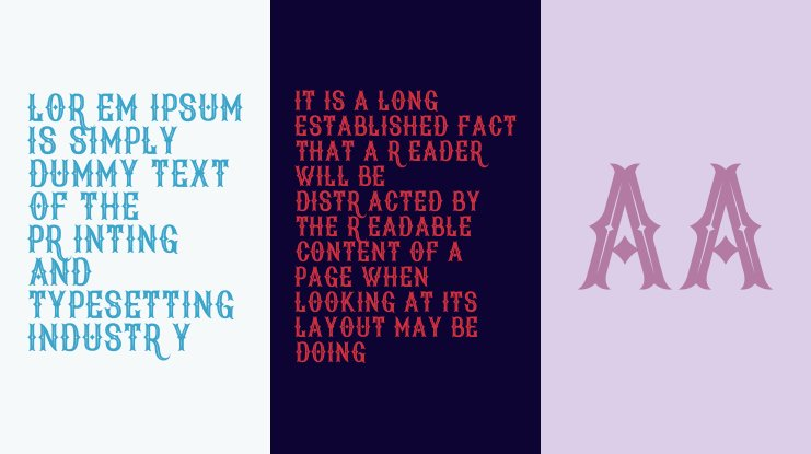 New Age Vintage Font Family