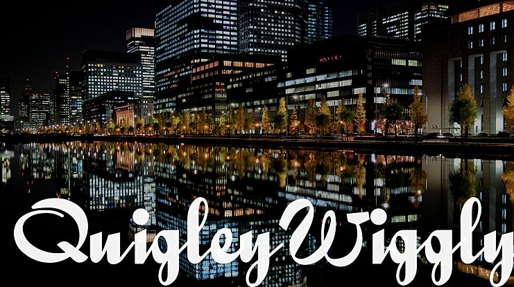 QuigleyWiggly Font