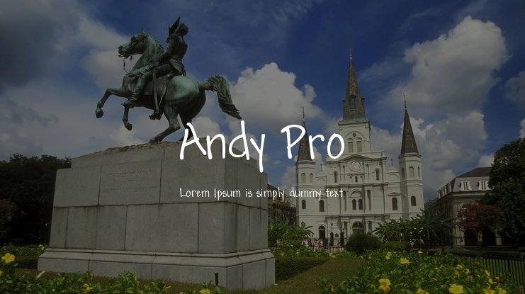 Andy Pro Font Family