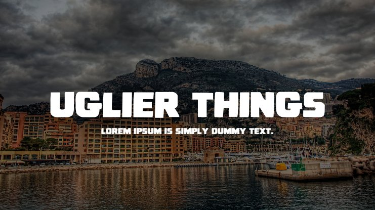 Uglier Things Font Family
