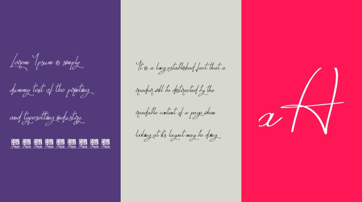 Thinking You Personal USE Font Family