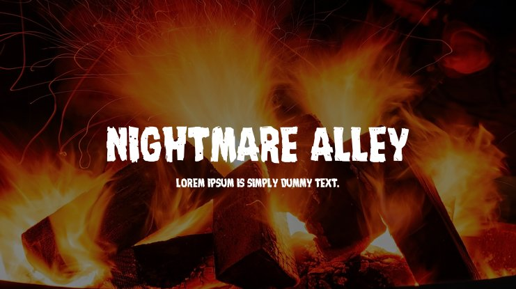 Nightmare Alley Font Family