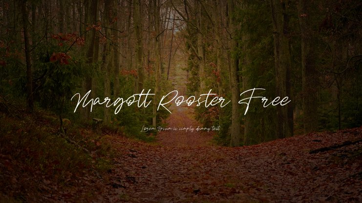Margott Rooster Free Font