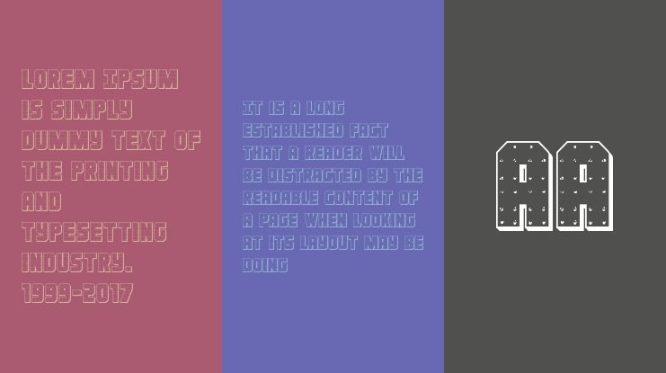 Iron Forge 3D Font Family