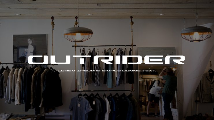 Outrider Font Family