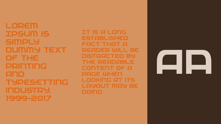 Federal Service Font Family