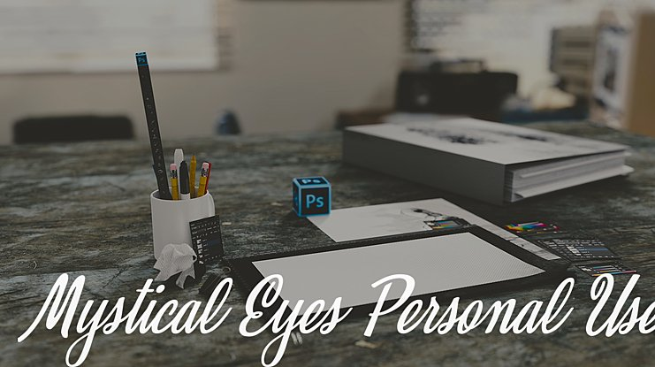 Mystical Eyes Personal Use Font