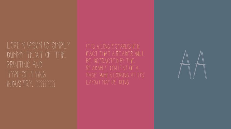 The Waiting Room Font