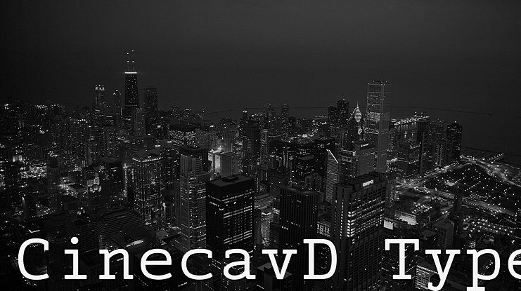 CinecavD Type Font