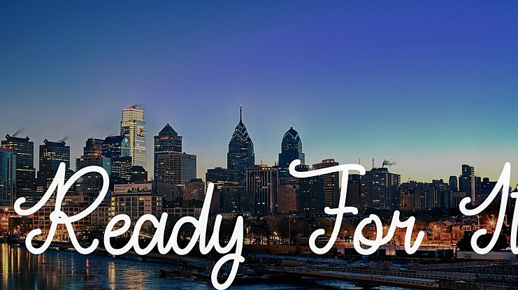 Ready For It Font