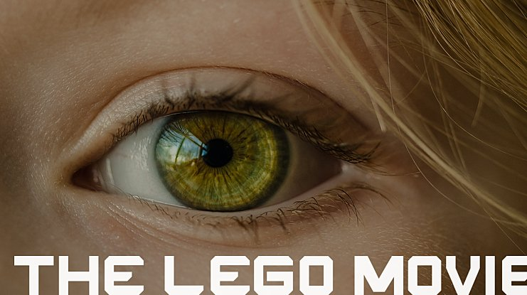 THE LEGO MOVIE Font