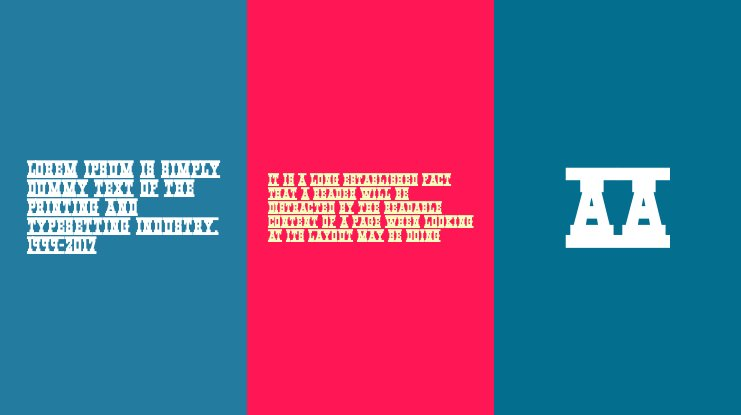 Western Rail Font Family