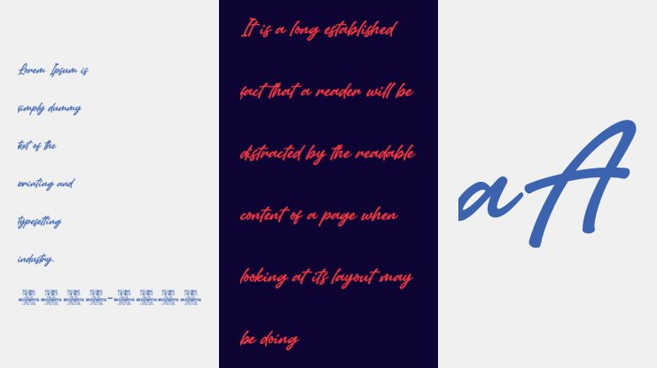 Amertha PERSONAL USE ONLY Font