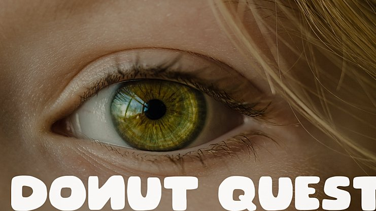 Donut Quest Font Family
