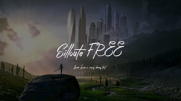 Silloute FREE Font