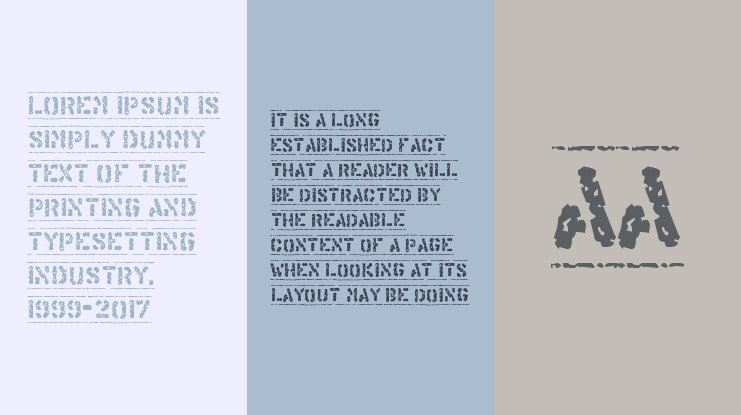 Offshore Banking Business Font