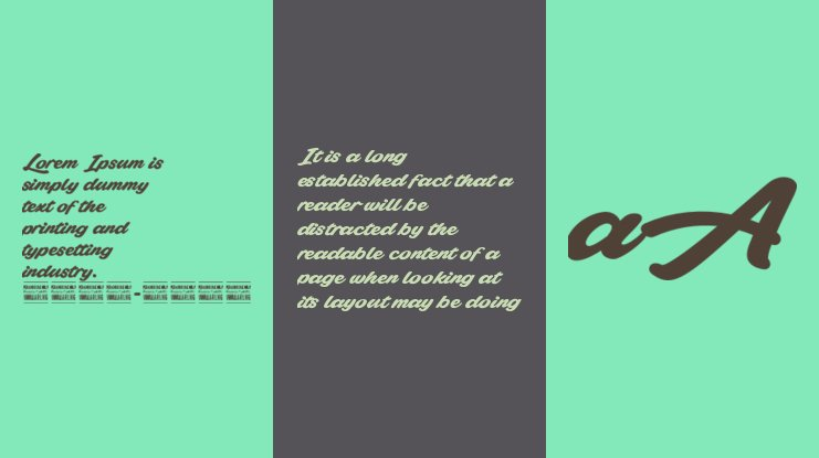 Plicata PERSONAL USE ONLY Font