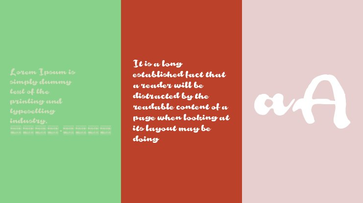 Rough Rakoon In PERSONAL USE Font Family