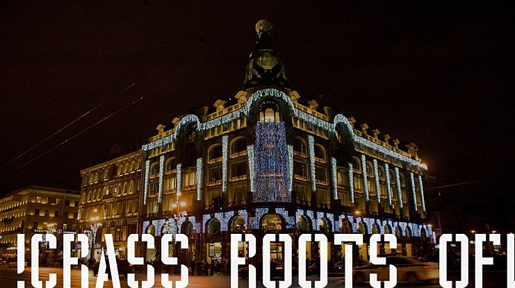 !Crass Roots OFL Font
