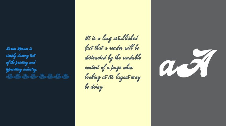 Emiral Script  PERSONAL USE Font Family