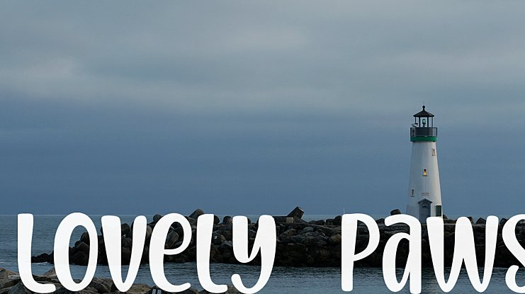 Lovely Paws Font