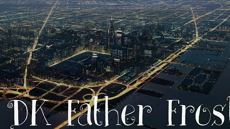 DK Father Frost Font