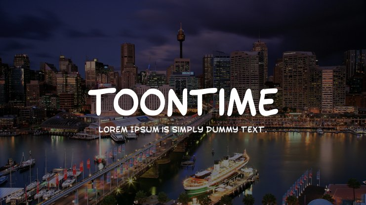 Toontime Font Family