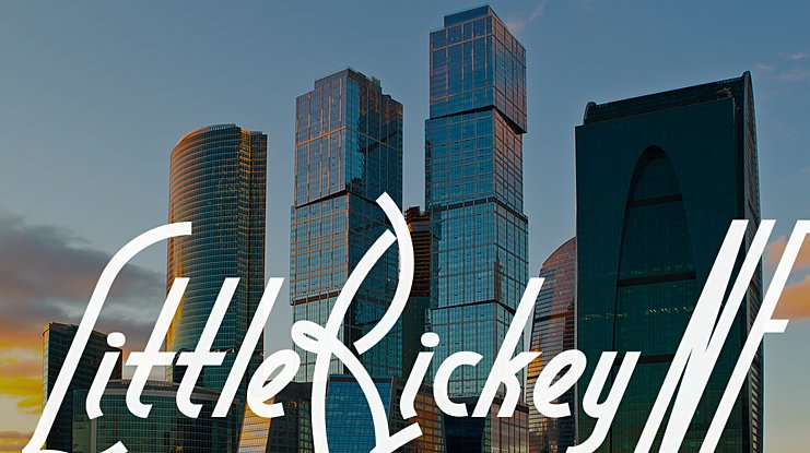 Little Rickey NF font