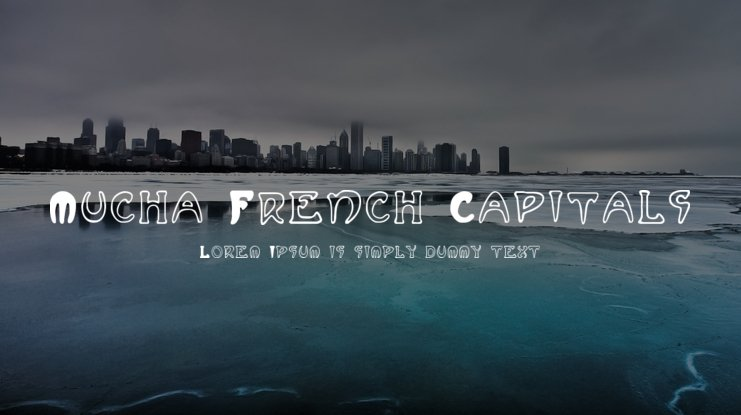 Mucha French Capitals Font Family