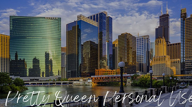 Pretty Queen Personal Use Font