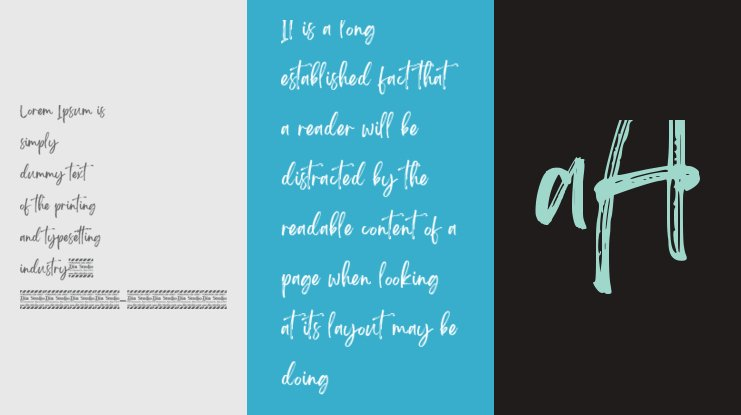 Brightwall Personal Use Font