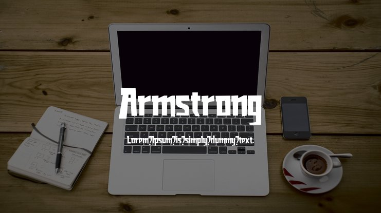 Armstrong Font Family