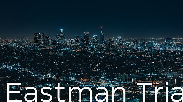 Eastman Trial Font Family