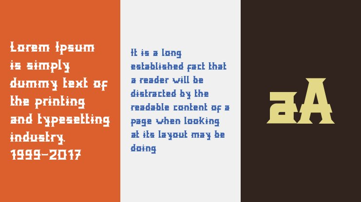 Distric of Barthon Font Family