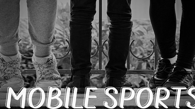 MOBILE SPORTS Font