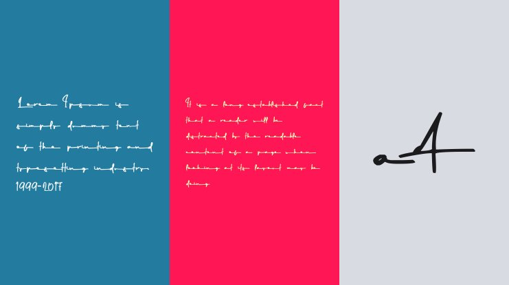 Gilberta Signature Stand Font Family